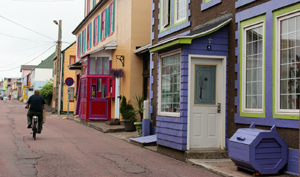 houses on St. Pierre