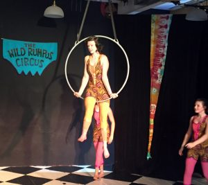 Teen counselors performing at Circus Camp