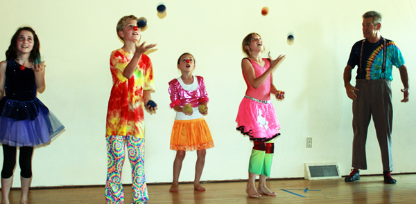 circus camp juggling