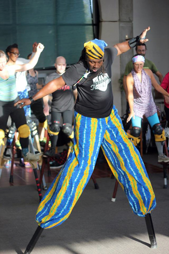 Global Stilt Congress: Afro-Carribean Stilts with Najja Codrington