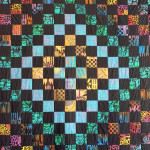 African Amish quilt (Around the World design), by Dorie Miquelon