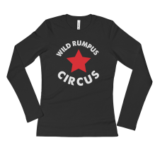 Wild Rumpus Longsleeve Ladies' T-Shirt